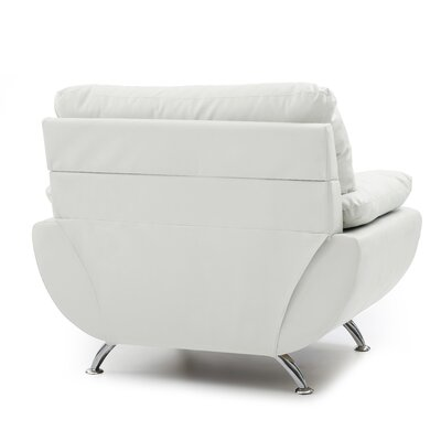 Xamiera Armchair Color: White