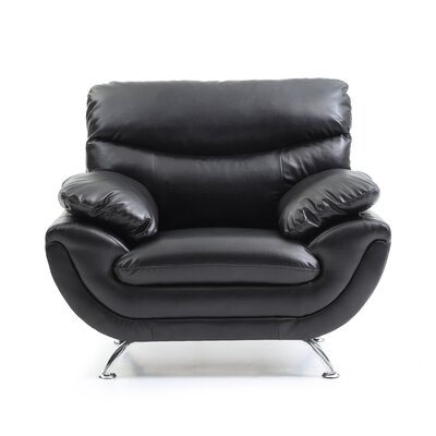 Xamiera Armchair Color: Black