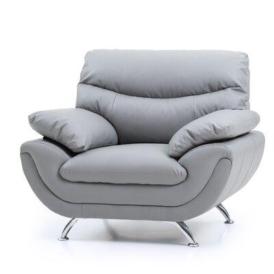Xamiera Armchair Color: Gray