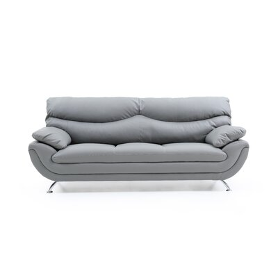 Simon Sofa Color: Gray