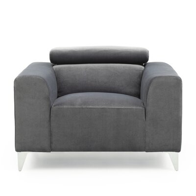 Stefan Armchair Upholstery: Gray