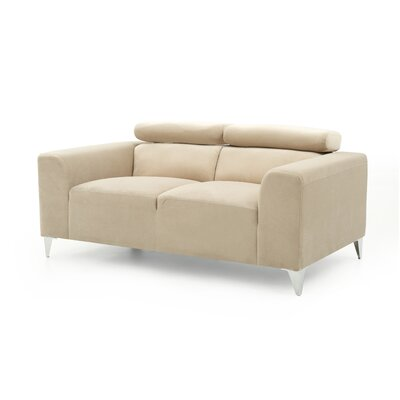 Stefan Loveseat Color: Beige