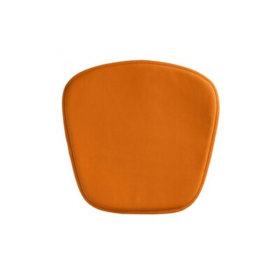 Upholstered Outdoor Bench Cushion Fabric: Orange