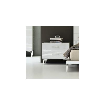 Parsons 2 Drawer Nightstand