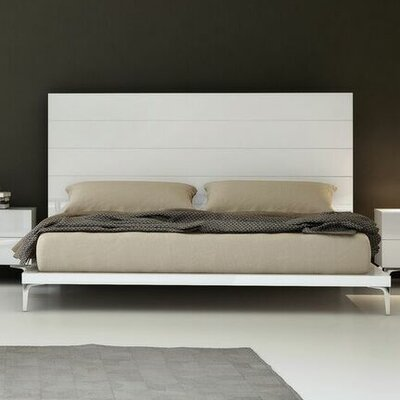 Parsons Panel Bed Size: King