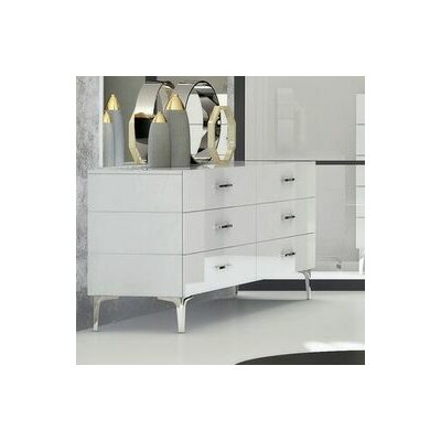 Parsons 6 Drawer Double Dresser