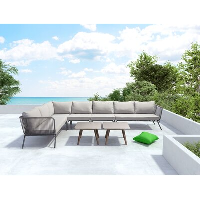 Henley Sectional Sofa with Cushion