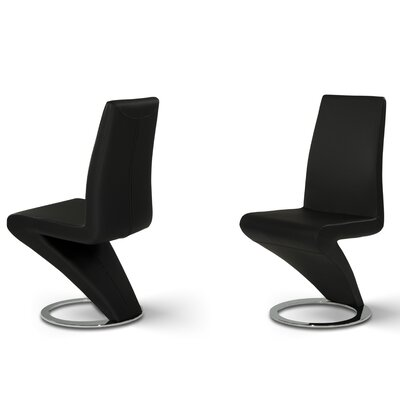 Belafonte Parsons Chair Upholstery: Black