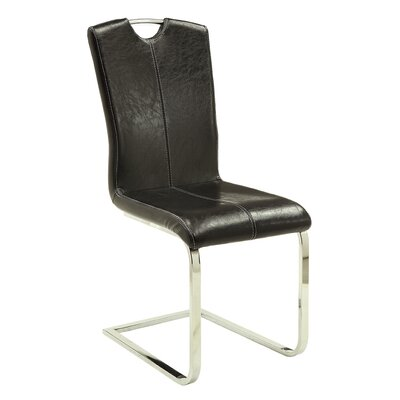 Lizz Genuine Leather Upholstered Dining Chair