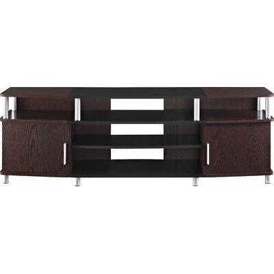 Bellamy TV Stand Finish: Black/Cherry
