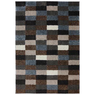 Amaya Panels Cocoa/Black Area Rug