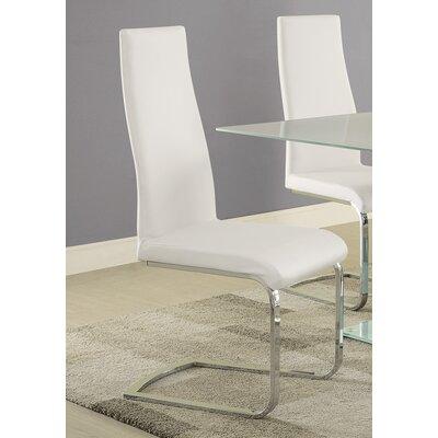 Bahati Side Chair Finish: White