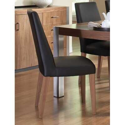 Meggie Genuine Leather Upholstered Dining Chair