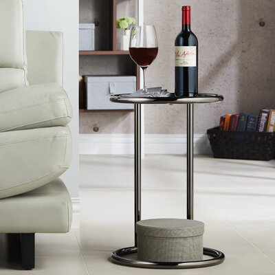 Arlo End Table Finish: Black
