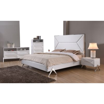 Anouk Upholstered Platform Configurable Bedroom Set