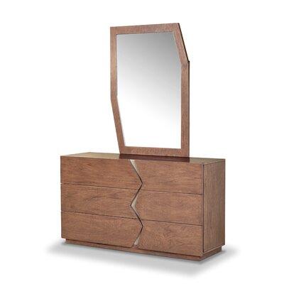 Havana 6 Drawer Dresser with Mirror