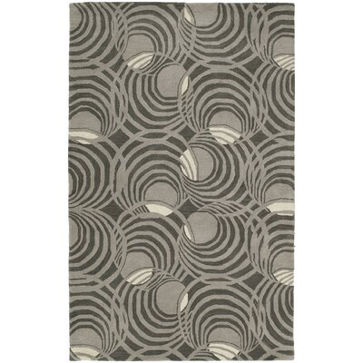 Carter Graphite Area Rug Rug Size: Rectangle 76 x 9