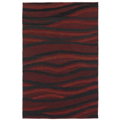 Christa Ebony Area Rug Rug Size: 8 x 10