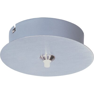 Karissa RapidJack 1-Light Canopy Finish: Satin Nickel