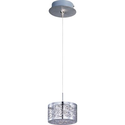 Echo 1-Light Steel RapidJack Pendant and Canopy
