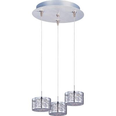 Echo 3-Light Metal RapidJack Pendant and Canopy
