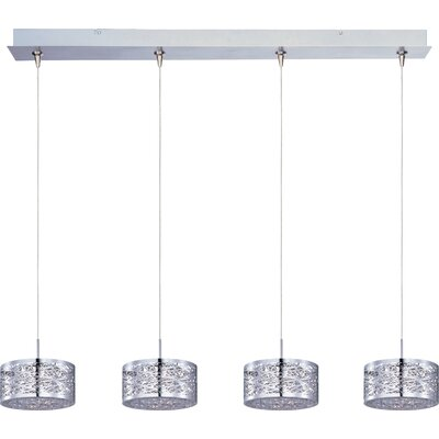 Echo 4-Light RapidJack Metal Pendant and Canopy