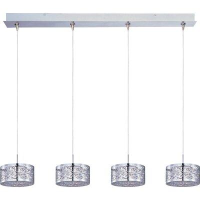 Echo 4-Light RapidJack Metal Pendant and Canopy