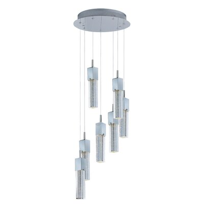 Diphda 7-Light LED Pendant