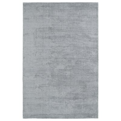Claverham Hand-Woven Silver Area Rug Rug Size: Rectangle 3 x 5