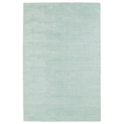 Claverham Hand Woven Wool Mint Area Rug Rug Size: Rectangle 8 x 10
