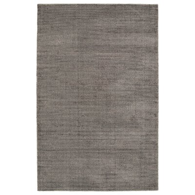 Claverham Hand Woven Wool Chocolate Area Rug Rug Size: Rectangle 5 x 79