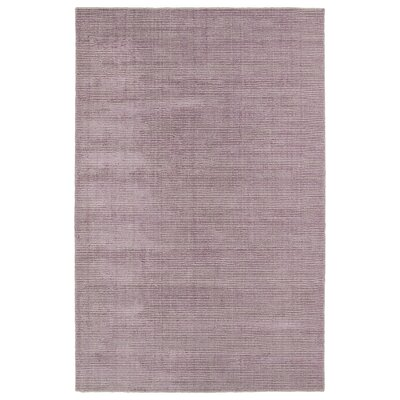 Claverham Handmade Lilac Area Rug Rug Size: Rectangle 9 x 12