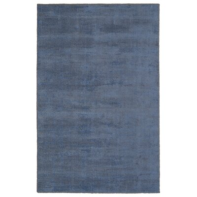 Claverham Hand Woven Blue Area Rug Rug Size: Rectangle 9 x 12