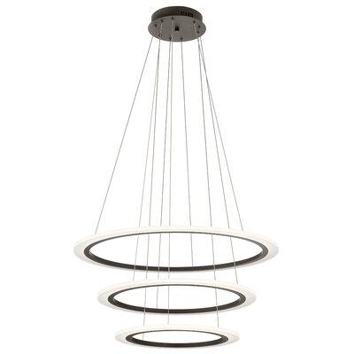 Baillie 3-Light LED Geometric Pendant