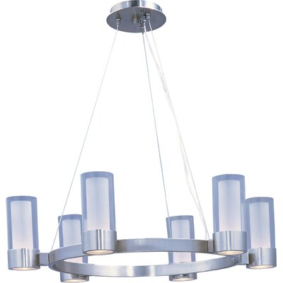 Hamilton 6-Light Shaded Chandelier