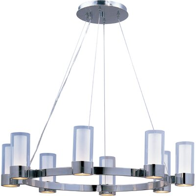 Hamilton 8-Light Shaded Chandelier