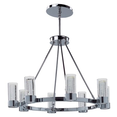 Glade Spring 8-Light Shaded Chandelier