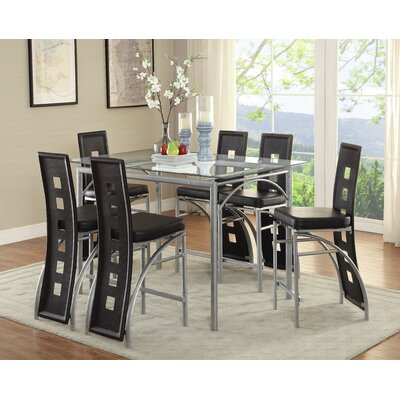 Tual 7 Piece Dining Set