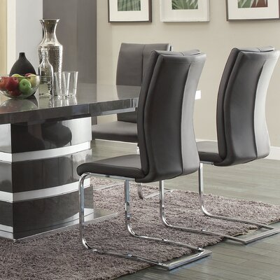Mount Isa Side Chair Upholstery: Gray