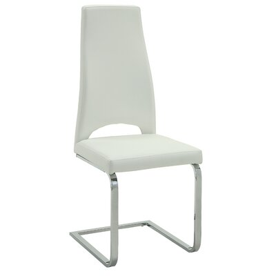 Babita Side Chair Upholstery: White