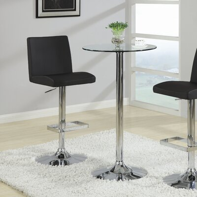 Mukesh Adjustable Height Swivel Bar Stool