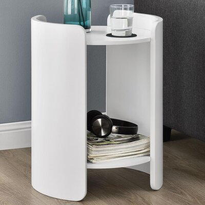 Layla End Table Finish: White