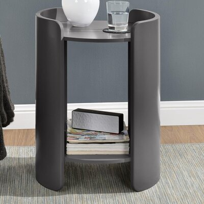 Layla End Table Finish: Dark Gray
