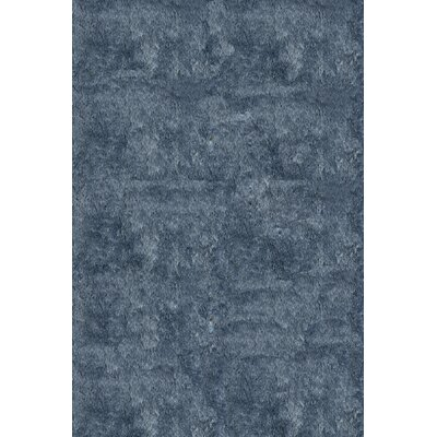 Leah Hand-Tufted Light Blue Area Rug Rug Size: Runner 23 x 8