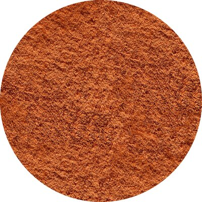 Cherree Hand-Tufted Brown Area Rug Rug Size: Round 4