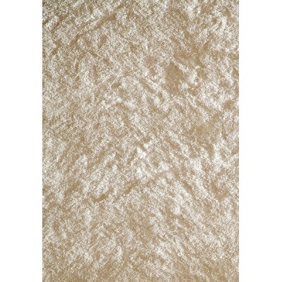 Leah Hand-Knotted White/Beige Indoor/Outdoor Area Rug Rug Size: 5 x 7
