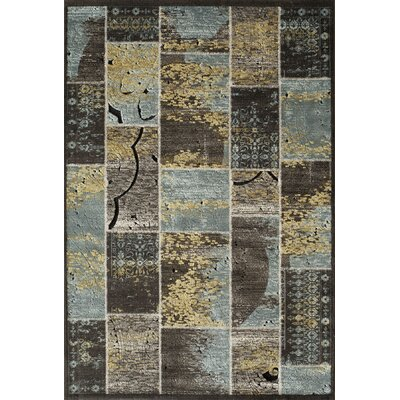 Charleena Blue Rug Rug Size: Rectangle 1'8