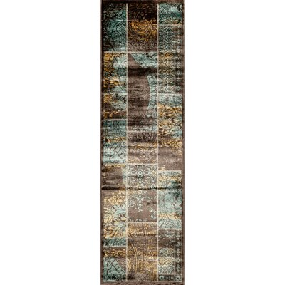 Charleena Blue Rug Rug Size: Rectangle 18 x 27
