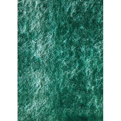 Cherree Hand-Tufted Teal Area Rug