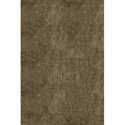 Leah Hand-Tufted Light Taupe Area Rug Rug Size: 5 x 7
